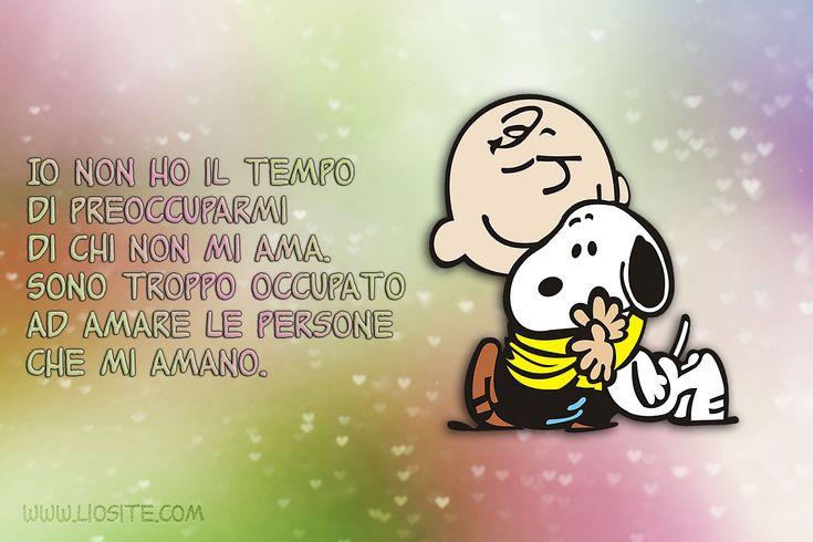 Charlie Brown - Io non ho il tempo di ..