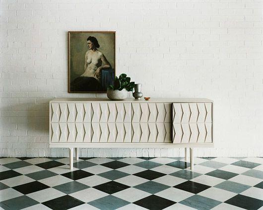 Linoleum flooring!
