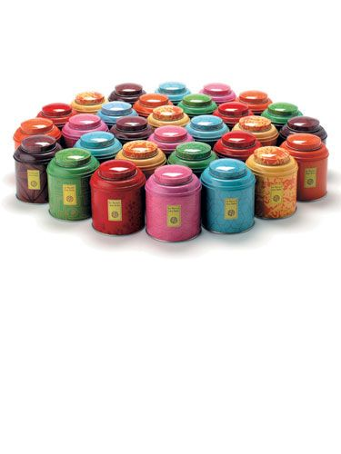 Le Palais des Thes Tea Canister - Affordable Gifts for Women 2012 - Harpers BAZAAR http://www.harpersbazaar.com/fashion/fashion-articles/le-palais-des-thes-tea-canister-gifts-under-100