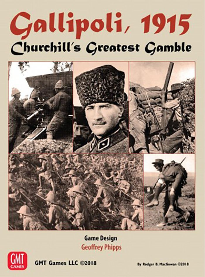 May Brings 'Gallipoli, 1915: Churchill's Greatest Gamble' from GMT