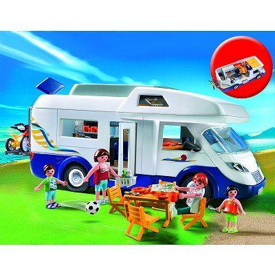 Playmobil 4859 : Grand camping car familial - Playmobil-4859