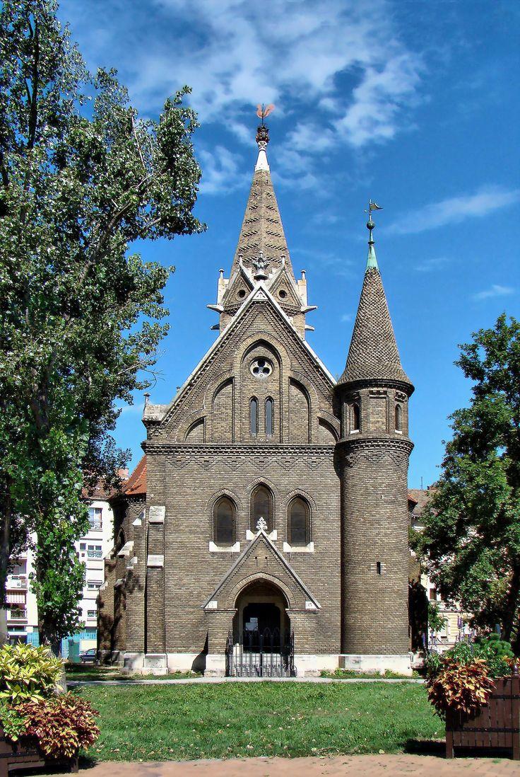 2014.08. Hungary, Szeged, Reformed (rooster) church _ Szeged, református (kakasos) templom_photo by Peter Farsang