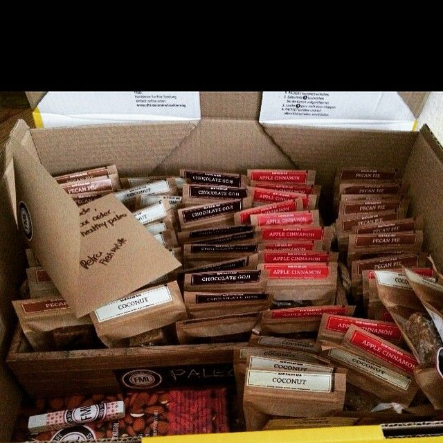 Delicious #paleotreats on their way to our happy customers! #snackhealthy #freshmylife #eatwithoutregrets #paleo #vegan #handmade #healthy