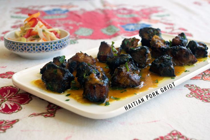A savory favorite in Haiti, griot is a one of a kind representation of the diversity of Haitian cuisine. Get the recipe and history here.