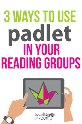 3 Ways to Use Padlet in Your Reading Groups