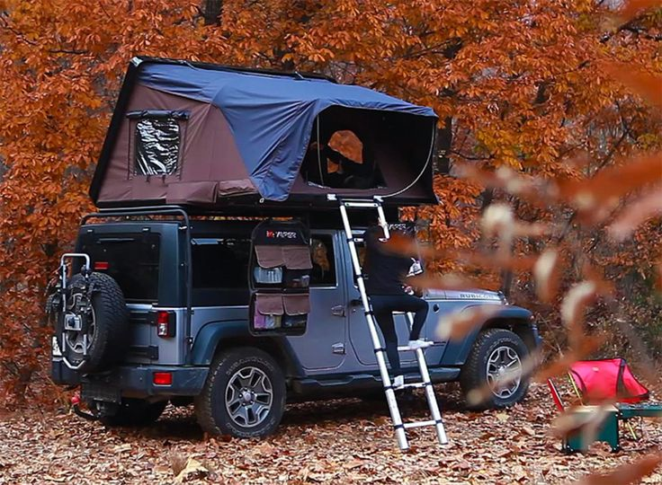 Ikamper Skycamp Rooftop Tent Inspired By Jack Kerouac S On