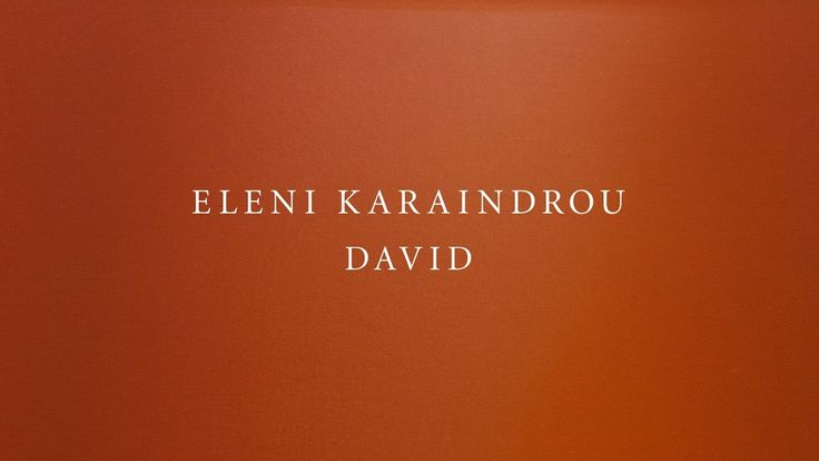 Eleni Karaindrou | Overture (David)
