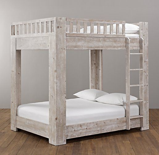 Callum Platform Full-Over-Full Bunk Bed | All Beds | Restoration Hardware Baby & Child
