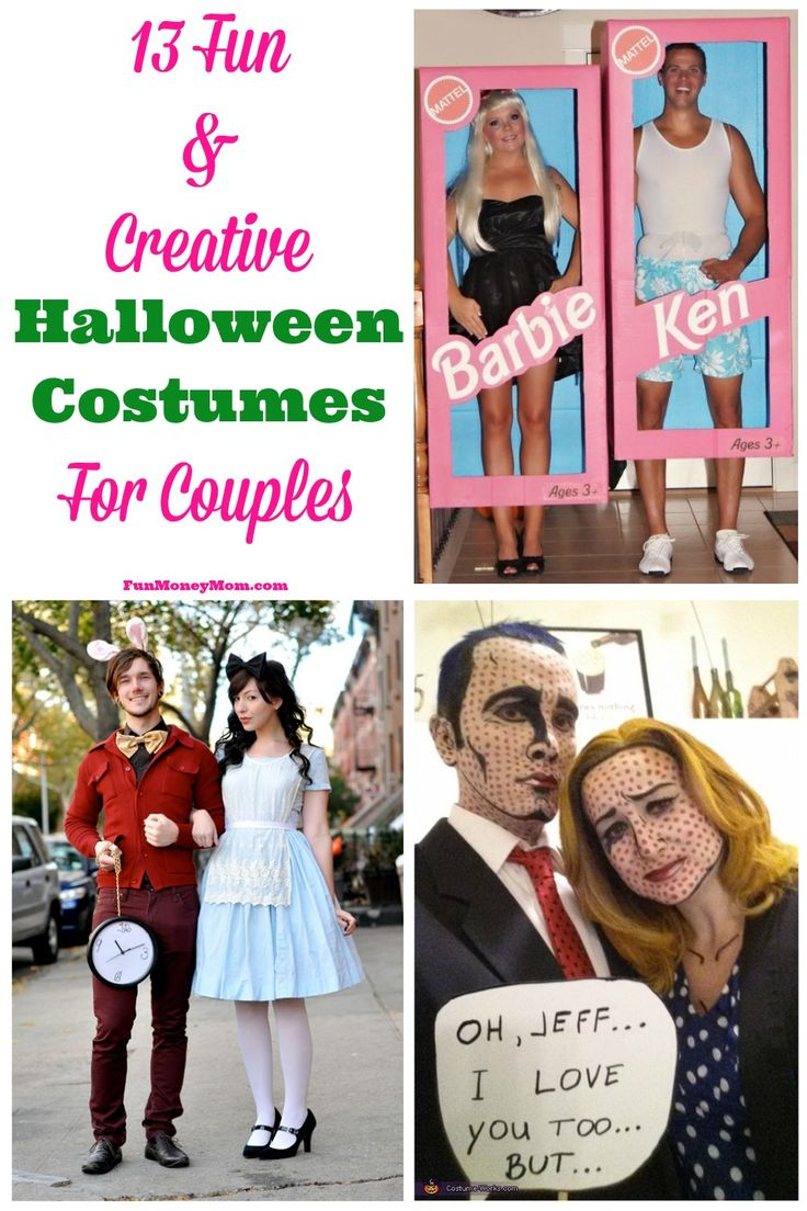 Creative Halloween Makeup Ideas A Subtle Revelry: 13 Fun & Creative Halloween Costumes For Couples