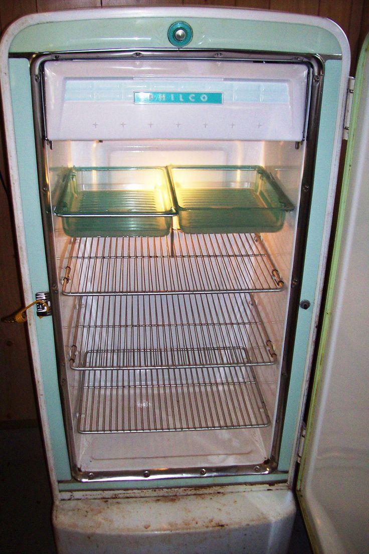 Vintage Philco Refrigerator Ebay Vintage Appliance