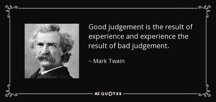 how to get better at good judgement
