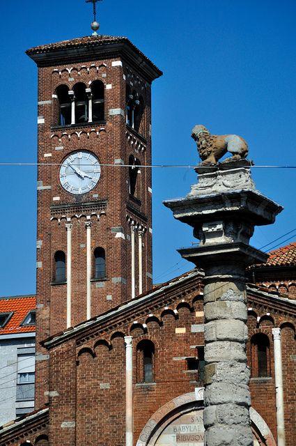 M<3 La basilica collegiata prepositurale di San Babila   IX secolo   Milano