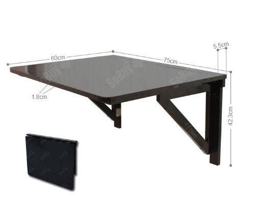 SoBuy FWT05-Sch Table murale rabattable pliable en bois 75×60cm, Table de cuisine à rabat -Noir SoBuy http://www.amazon.fr/dp/B00N9M77S4/ref=cm_sw_r_pi_dp_E03Swb105RBYW
