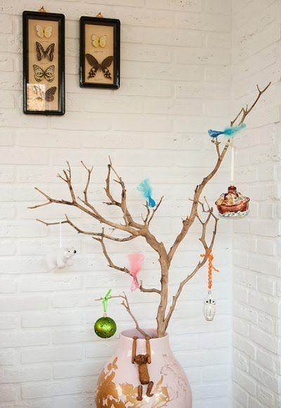 25 einzigartige zweige weihnachtlich dekorieren ideen auf pinterest outdoor weihnachtsbaum - Weihnachtlich dekorieren ab wann ...