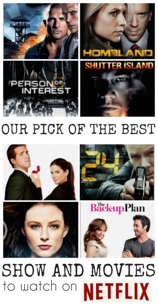 The best shows and movies to watch on Netflix - so many awesome suggestions!