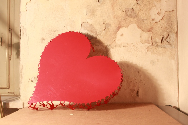 #cuore #vassoio #alzatina #acciaoalcarbonio