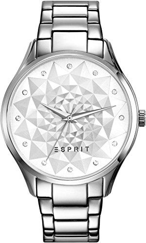 Esprit-Damen-Armbanduhr-silver-Analog-Quarz-Edelstahl-ES109022001