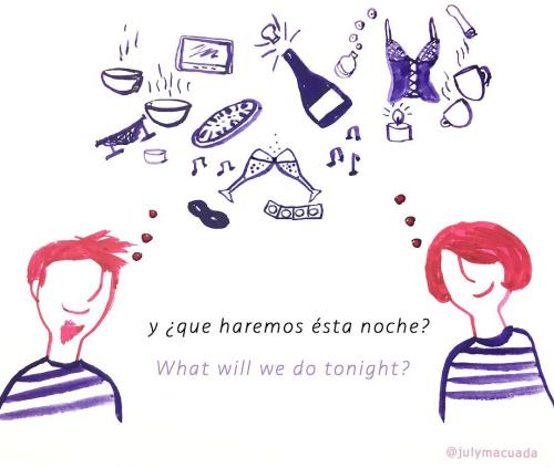 Cuál eliges ? /What do you choose? #couple #ilustracion...
