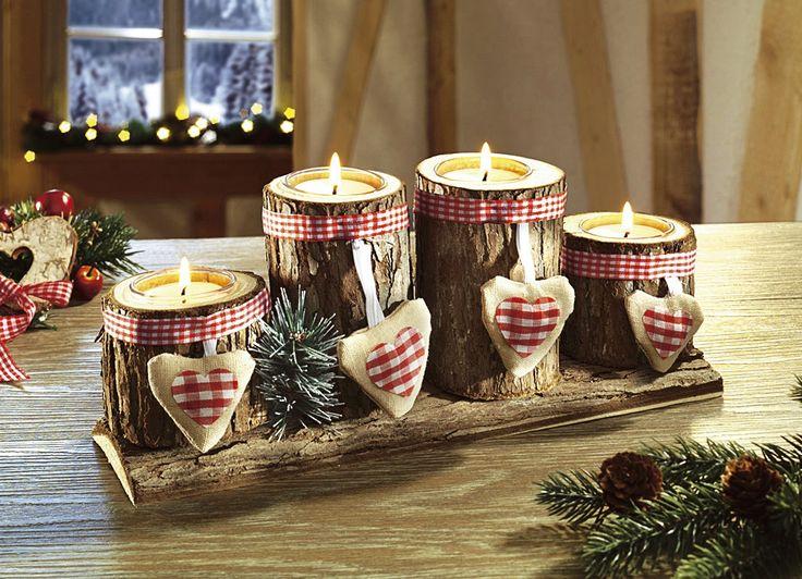 Advents-Teelichthalter - Weihnachtliche Dekorationen - Weihnachten   Brigitte Salzburg Exclusiv