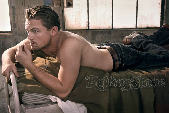 Leonardo DiCaprio in Rolling Stone