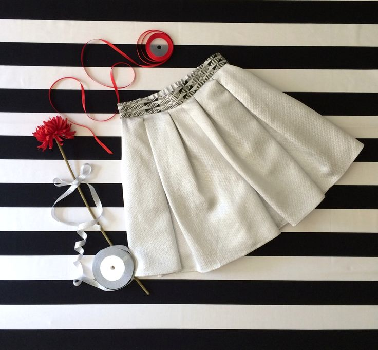Silver culotte - Christmas outfit