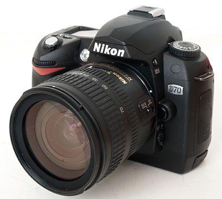 This was my first DSLR camera - Nikon D70. Fantastic camera!
