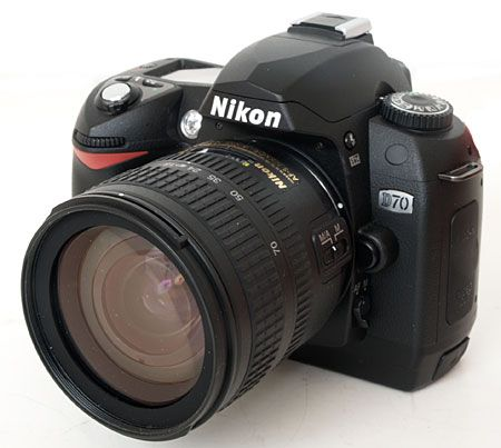 This was my first DSLR camera - Nikon D70. Fantastic camera!