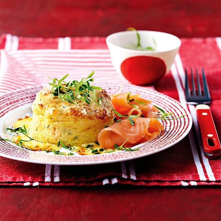 For a sweet taste of savoury, try our Smoked Salmon Souffle.
