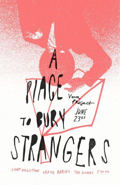 A place to bury strangers... Trevor Basset