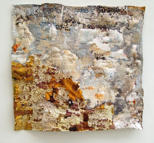 Sue Hotchkis Fibre Artist stitched abstract art