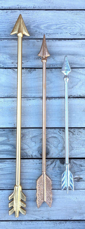 CYBER MONDAY SALE Metal Wall Arrow Arrow Wall by PenelopeMayDecor