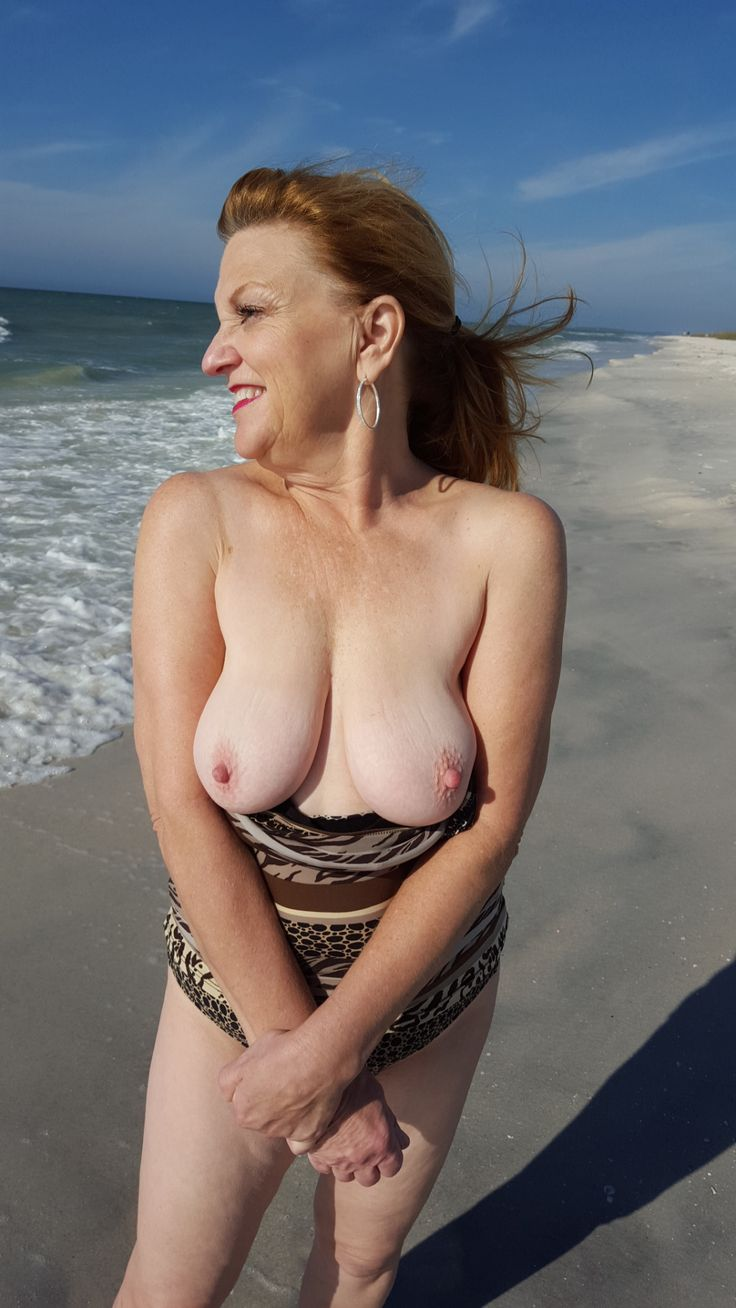 Mature nude nudist granny