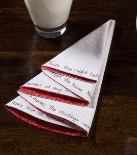 Christmas Tree Napkins.  So cute.  Saw a youtube video with green on one side and red on the other.  Edges done up on the serger....simple and fast.  Wonder if I can get them made before Christmas? :)