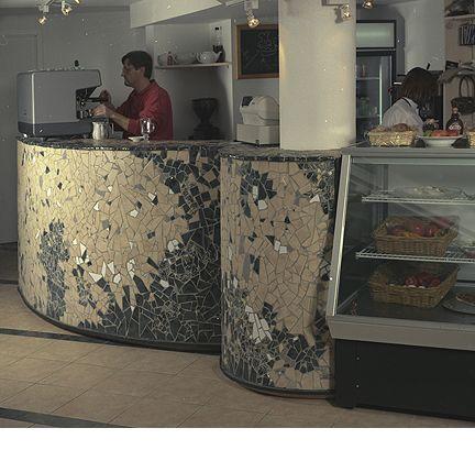 Cafe Klatch Bar Table - Toronto, Canada