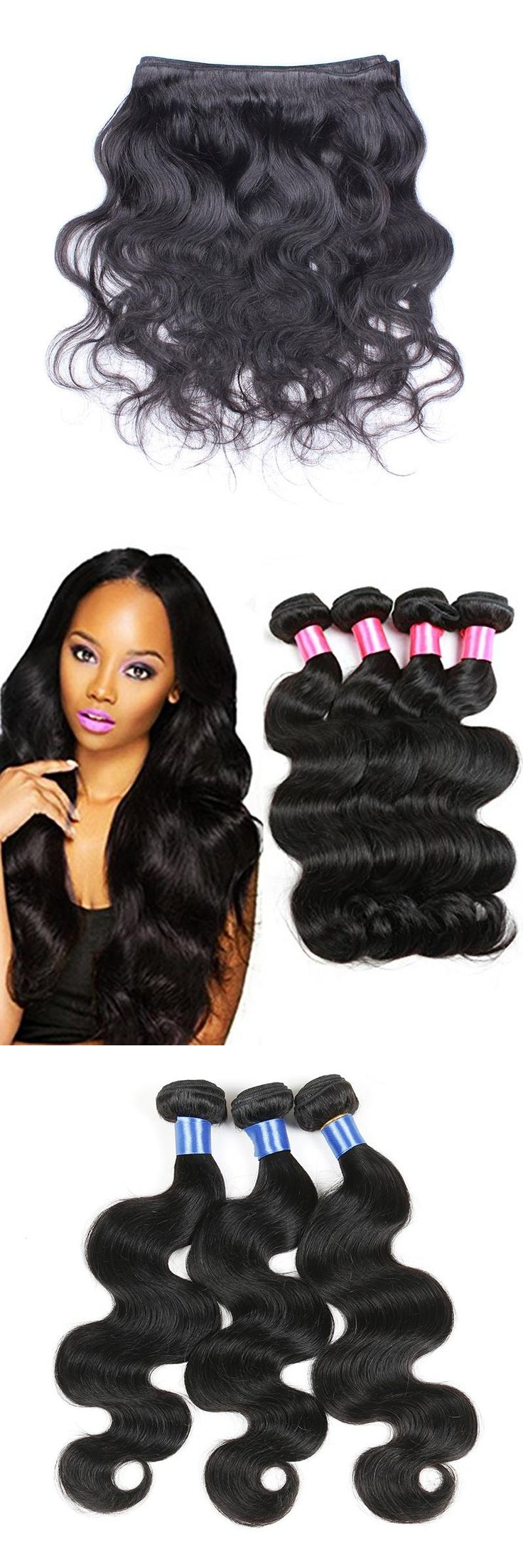 Best 25 waves bundle ideas on pinterest good hair extensions brazilian body wave 3 bundle virgin hair tangle free 7a 100 unprocessed human hair weaves pmusecretfo Image collections