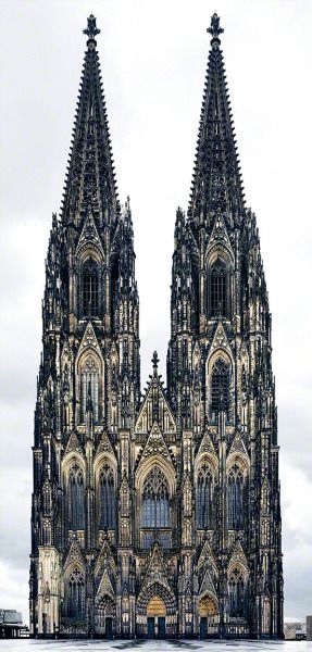 Cologne Cathedral, Germany Markus Brunetti Not hard to see the influence of the forest on Gothic architecture.