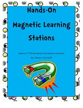 hands on magnets 4 interactive learning stations learning hands and worksheets. Black Bedroom Furniture Sets. Home Design Ideas