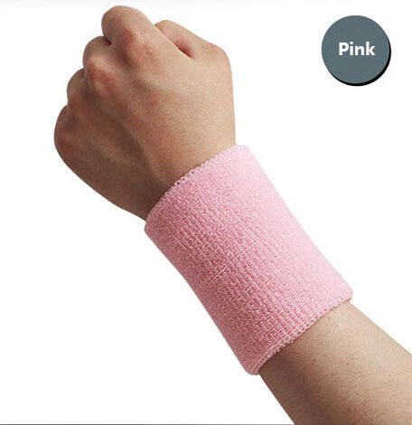 15*7.5cm cotton elastic bandage hand sport wristband gym support wrist brace wrap fitness tennis polsini sweat band munhequeira