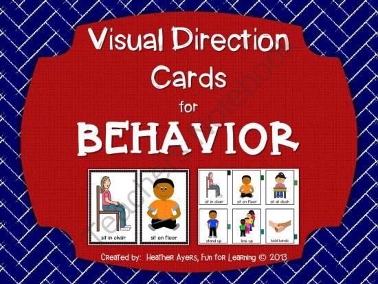 Behavior Cue Cards - Autism Circuit