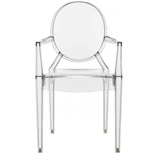 Kartell Louis Ghost Chair | Crystal | Furniture | Bloomsbury Store