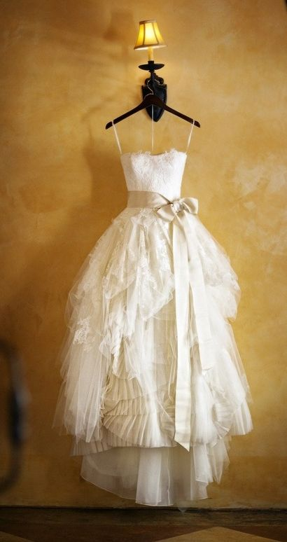 Vera Wang--this could be similar to your dream dress.