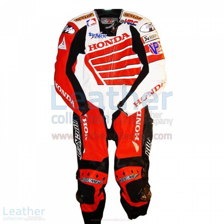 Miguel Duhamel trugen die speziell Honda Motorradkombi im Jahr 2008, als er teilnahm in AMA Superbike-Meisterschaft und wurde Siebter in der Gesamtwertung  Bomberangebot! Sonderpreis =  662,31 € regulärer Preis = 827,89 €  kaufe jetzt https://www.leathercollection.com/de-de/miguel-duhamel-honda-ama-2008-motorradkombi.html