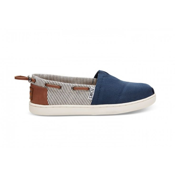 john-andy.com | Toms Παπούτσια Παιδικά Navy Canvas Youth Bimini 10010049