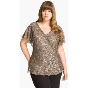 Image result for chiffon top plus size
