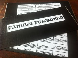 free family fortunes quiz questions and answers