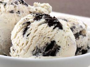 Συνταγή για πανεύκολο παγωτό cookies & cream