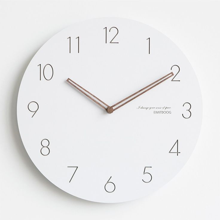 Best 25 White Wall Clocks Ideas On Pinterest Modern