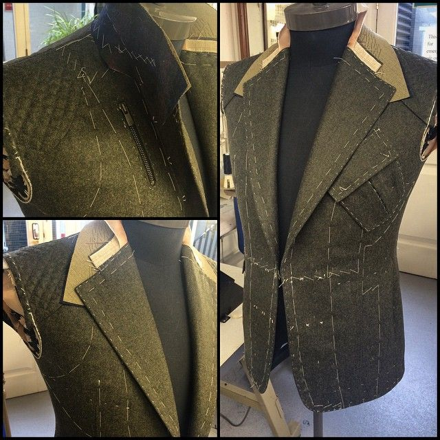 Work in progress - Bentley driver's jacket.