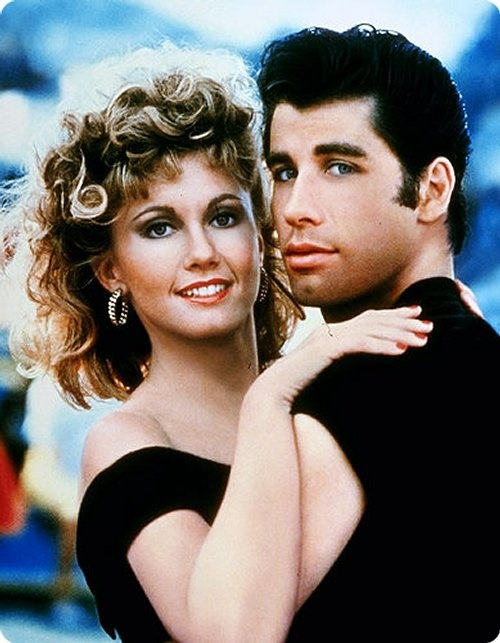 Grease. Still my favorite movie :) Had the music on vinyl... ah, those were the days!