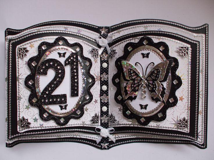 Handmade Bookatrix For 21st Birthday